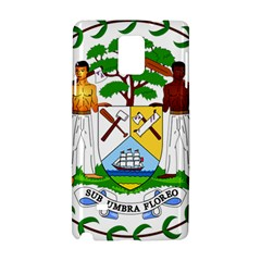 Coat of Arms of Belize Samsung Galaxy Note 4 Hardshell Case