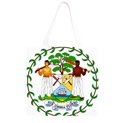 Coat of Arms of Belize Grocery Light Tote Bag