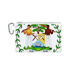 Coat of Arms of Belize Canvas Cosmetic Bag (S)