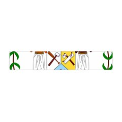 Coat of Arms of Belize Flano Scarf (Mini)