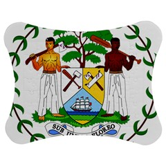 Coat Of Arms Of Belize Jigsaw Puzzle Photo Stand (bow)