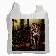 Jaguar in the Jungle Recycle Bag (Two Side)