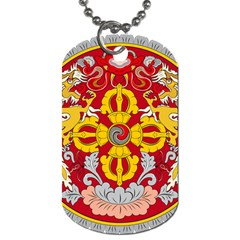 National Emblem of Bhutan Dog Tag (Two Sides)