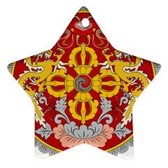 National Emblem of Bhutan Star Ornament (Two Sides)