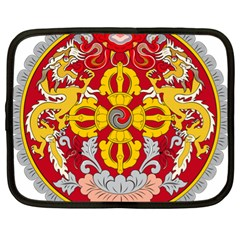 National Emblem of Bhutan Netbook Case (XL)