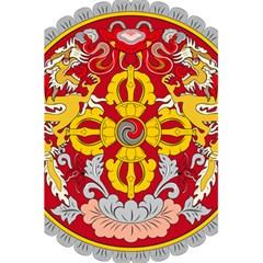 National Emblem of Bhutan 5.5  x 8.5  Notebooks