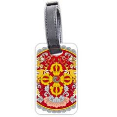 National Emblem of Bhutan Luggage Tags (Two Sides)