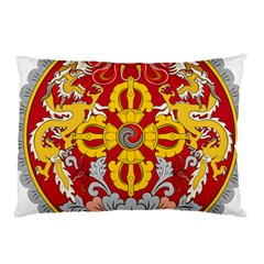 National Emblem of Bhutan Pillow Case (Two Sides)