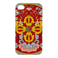 National Emblem of Bhutan Apple iPhone 4/4S Hardshell Case