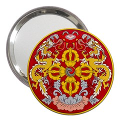 National Emblem of Bhutan 3  Handbag Mirrors