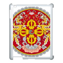 National Emblem of Bhutan Apple iPad 3/4 Case (White)