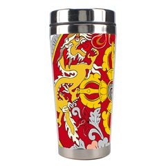 National Emblem of Bhutan Stainless Steel Travel Tumblers