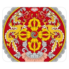 National Emblem of Bhutan Double Sided Flano Blanket (Small)