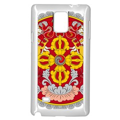 National Emblem of Bhutan Samsung Galaxy Note 4 Case (White)