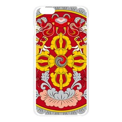 National Emblem of Bhutan Apple Seamless iPhone 6 Plus/6S Plus Case (Transparent)