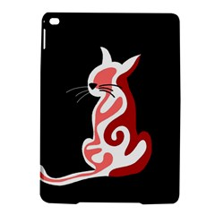 Red abstract cat iPad Air 2 Hardshell Cases
