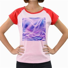 Abstract Graphic Design Background Women s Cap Sleeve T-Shirt