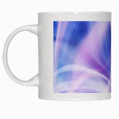 Abstract Graphic Design Background White Mugs