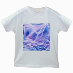 Abstract Graphic Design Background Kids White T-Shirts