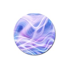 Abstract Graphic Design Background Magnet 3  (Round)