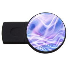 Abstract Graphic Design Background USB Flash Drive Round (1 GB)