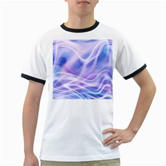 Abstract Graphic Design Background Ringer T-Shirts