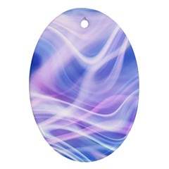 Abstract Graphic Design Background Oval Ornament (Two Sides)