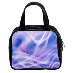 Abstract Graphic Design Background Classic Handbags (2 Sides)