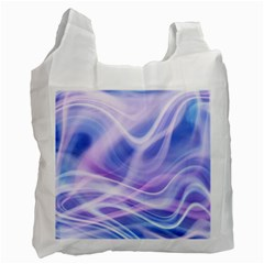 Abstract Graphic Design Background Recycle Bag (Two Side)