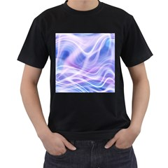 Abstract Graphic Design Background Men s T-Shirt (Black)