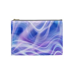 Abstract Graphic Design Background Cosmetic Bag (Medium)
