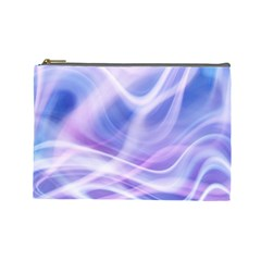 Abstract Graphic Design Background Cosmetic Bag (Large)