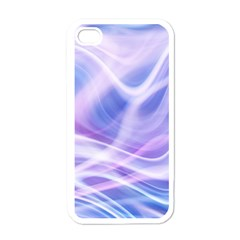 Abstract Graphic Design Background Apple iPhone 4 Case (White)