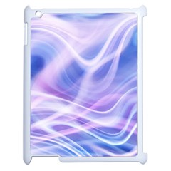 Abstract Graphic Design Background Apple iPad 2 Case (White)