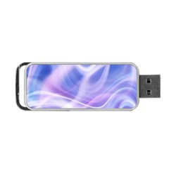 Abstract Graphic Design Background Portable USB Flash (One Side)