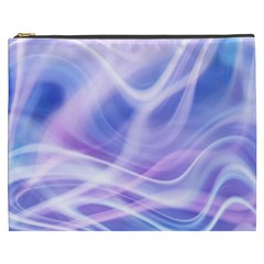 Abstract Graphic Design Background Cosmetic Bag (XXXL)