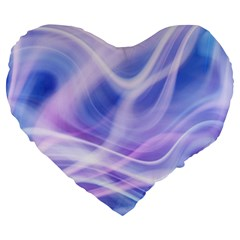 Abstract Graphic Design Background Large 19  Premium Heart Shape Cushions