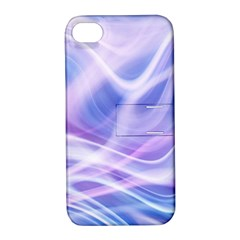 Abstract Graphic Design Background Apple iPhone 4/4S Hardshell Case with Stand