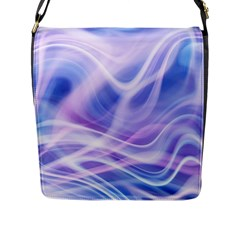 Abstract Graphic Design Background Flap Messenger Bag (L)