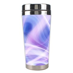 Abstract Graphic Design Background Stainless Steel Travel Tumblers