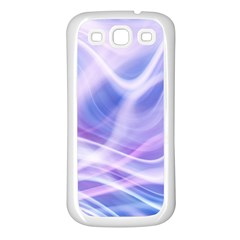 Abstract Graphic Design Background Samsung Galaxy S3 Back Case (White)