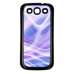 Abstract Graphic Design Background Samsung Galaxy S3 Back Case (Black)