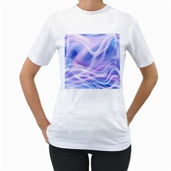 Abstract Graphic Design Background Women s T-Shirt (White)