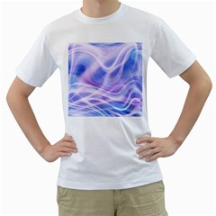 Abstract Graphic Design Background Men s T-Shirt (White)