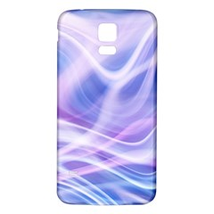 Abstract Graphic Design Background Samsung Galaxy S5 Back Case (White)