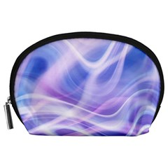Abstract Graphic Design Background Accessory Pouches (Large)