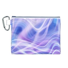 Abstract Graphic Design Background Canvas Cosmetic Bag (L)