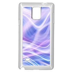 Abstract Graphic Design Background Samsung Galaxy Note 4 Case (White)