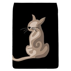 Brown abstract cat Flap Covers (L)