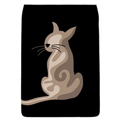 Brown abstract cat Flap Covers (S)